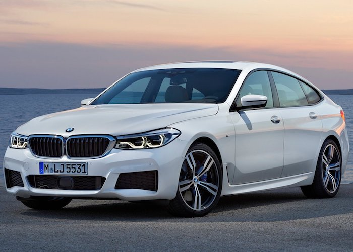 BMW 6 Series Gran Turismo 2018 incars 001