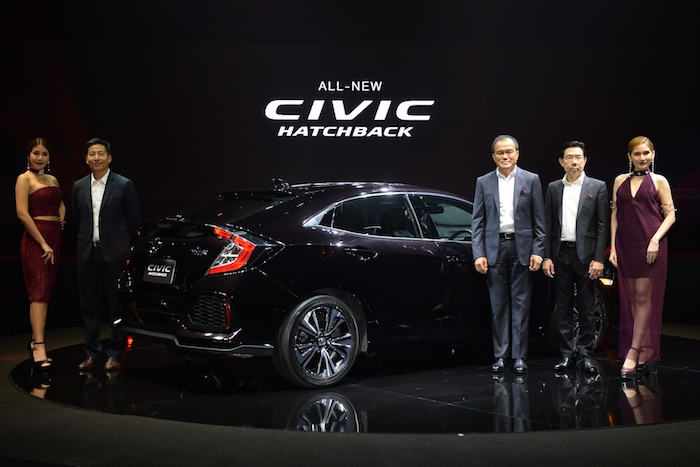 Honda Civic Hatchback 2017 001