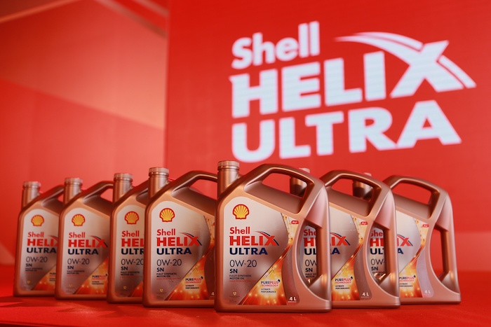 Shell Helix 0W 20 Launch 001