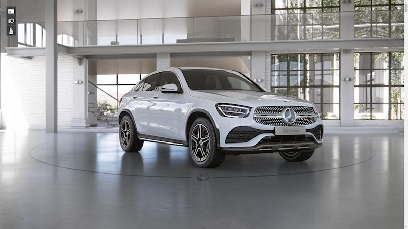Mercedes Benz GLC 220 d 4MATIC Coupe AMG Dynamic 1