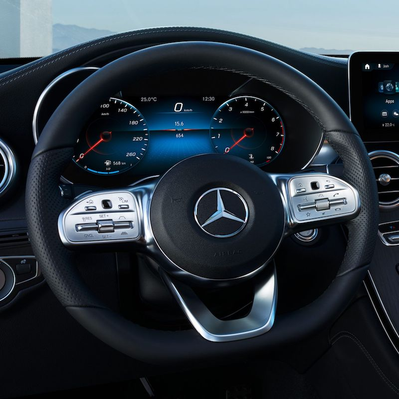 Mercedes Benz GLC 220 d 4MATIC Coupe AMG Dynamic 3