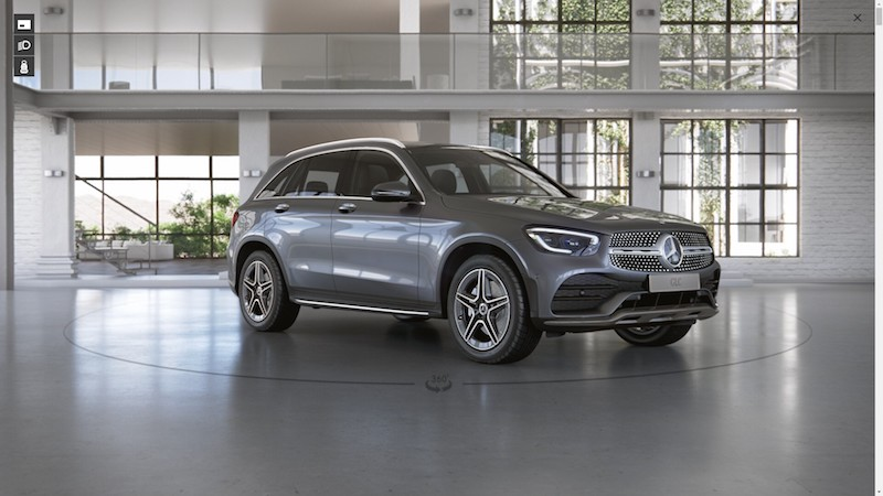 Mercedes Benz GLC 220 d AMG Dynamic 1