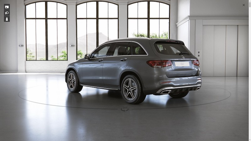 Mercedes Benz GLC 220 d AMG Dynamic 2